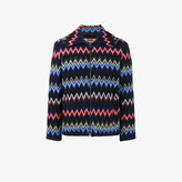 Missoni zig-zag knitted cardigan