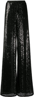 Alchemy Sequinned Wide-Leg Trousers