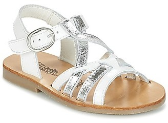 Citrouille et Compagnie IMONGI girls's Sandals in White