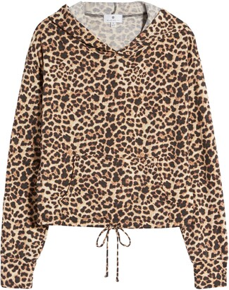 Socialite Leopard Print Hoodie