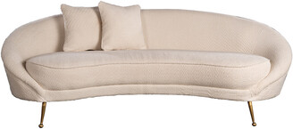 Statements By J Ipanema Boucle Curved Sofa