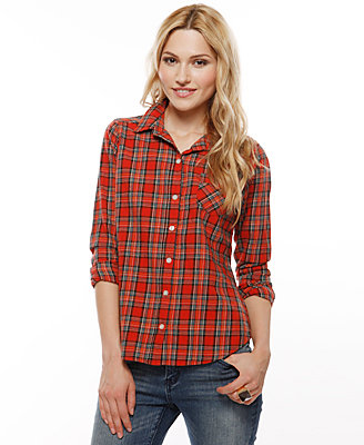 Forever 21 Heritage 1981 Plaid Shirt With Long Sleeves