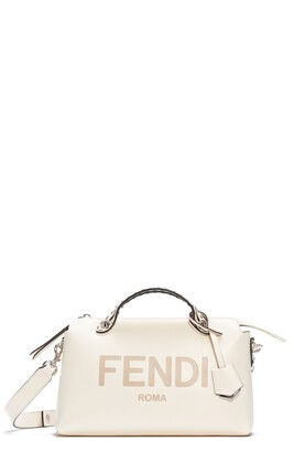 Fendi Medium By The Way Calfskin Leather Satchel