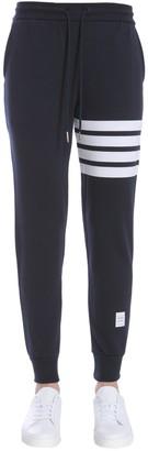 Thom Browne Logo Drawstring Sweatpants