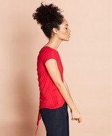 Brooks Brothers Ruched-Back Jersey Top