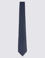 Limited Edition Pure Silk Floral Tie
