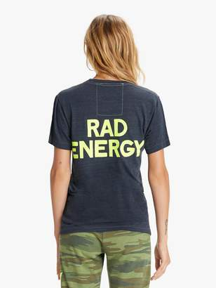 Aviator Nation Rad Energy Crew Tee - Charcoal