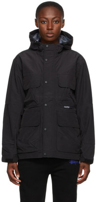 Stussy Black Taped Seam Field Jacket