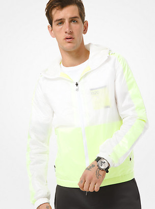 Michael Kors X TECH Nylon Hooded Jacket