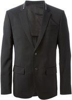 Givenchy zip collar blazer