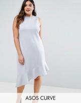 Asos Premium Drop Hem Dress