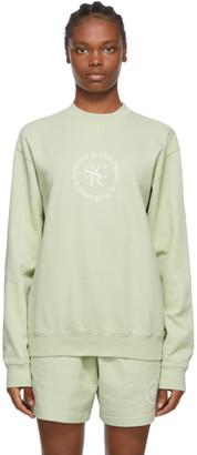 Sporty and Rich Green SRHWC Sweatshirt