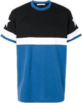 Givenchy contrast panel T-shirt
