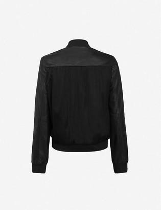 AllSaints Remy leather bomber jacket