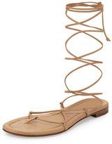 Michael Kors Bradshaw Lace-Up Gladiator Sandal, Toffee