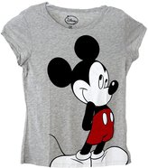 Disney Classic Mickey Mouse Standing Womens Pajama T Shirt Top