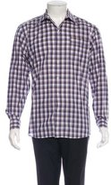 Lorenzini Plaid Woven Shirt