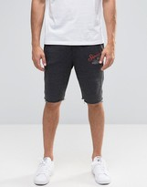 Blend of America Raw Hem Sweat Shorts in Gray
