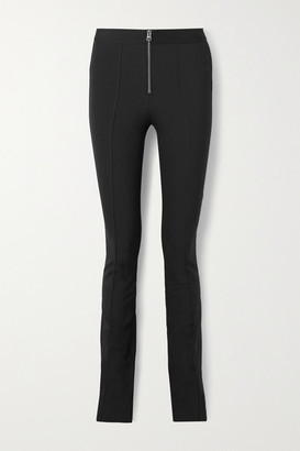 Rag & Bone Simone Stretch Cotton-blend Flared Pants - Black
