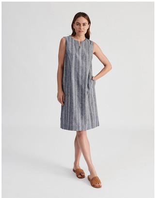 Regatta Sleeveless Split Neck Dress With Side Splits