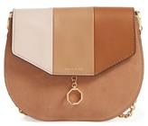 Louise et Cie Jael Leather Crossbody Bag - Beige