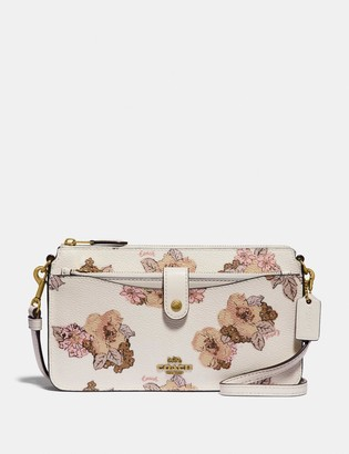Coach Noa Pop-Up Messenger With Floral Bouquet Print