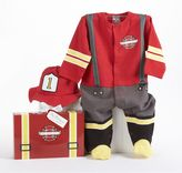 "Baby Aspen Big Dreamzzz ""Baby Firefighter"" Bodysuit Gift Set - Baby"