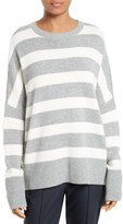 Theory Women's Karenia Stripe Cashmere Sweater