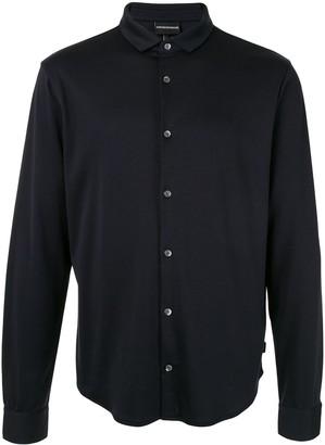 Emporio Armani Plain Lightweight Shirt
