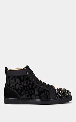 Christian Louboutin Men's Lou Pik Pik Orlato Sneakers - Black