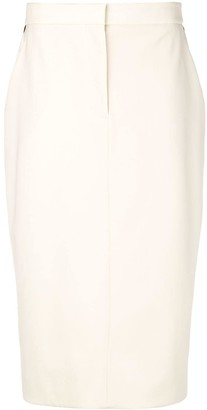 Calvin Klein Side Stripe Pencil Skirt