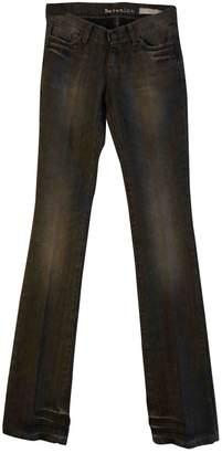 Berenice \N Black Cotton Jeans for Women