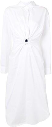 CHRISTOPHER ESBER Charm-Detail Shirt Dress
