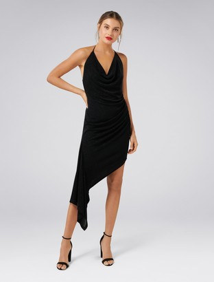 Ever New Lanie Ruched Metallic Dress