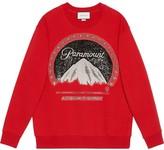 Gucci Oversize sweatshirt with Paramount logo