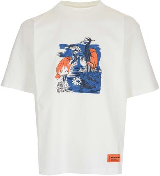 Heron Preston Embroidered Herons T-Shirt