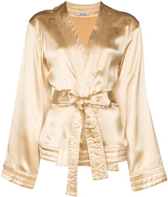 Deitas Luna kimono-style top