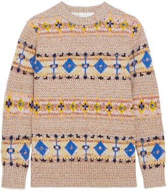 Victoria Beckham Wool And Alpaca-blend Sweater