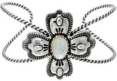 American West Sterling Silver Mother-of-Pearl Cross Cuff