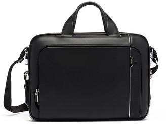 Tumi Arrive Leather Sadler Briefcase