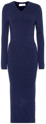 Victoria Beckham Wool-blend midi dress