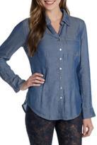 Nic+Zoe Nic + Zoe Drapey Denim Shirt