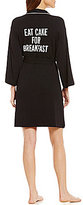 Kate Spade Eat Cake For Breakfast French Terry Wrap Robe