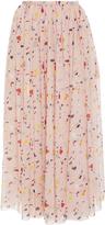 Carolina Herrera Fluid Confetti Skirt