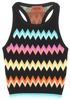 Missoni Activewear knitted sports top