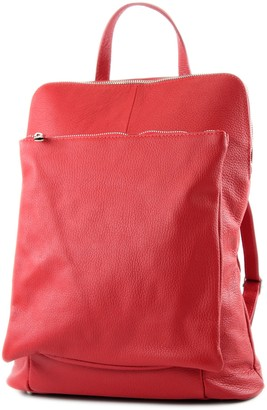modamoda de - ital. Leather Backpack Backpack 3in1 Backpack Citybag T141