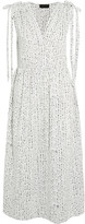 Hatch The Market Printed Poplin Dress - White