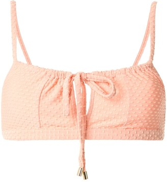 Peony Swimwear Gathered Bralette Top