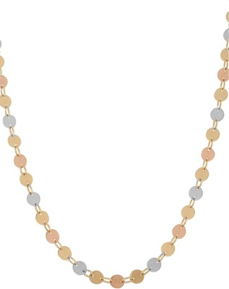 Saks Fifth Avenue 14K Gold Tri-Tone Long Necklace