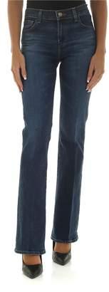 J Brand Blue Flared Jeans